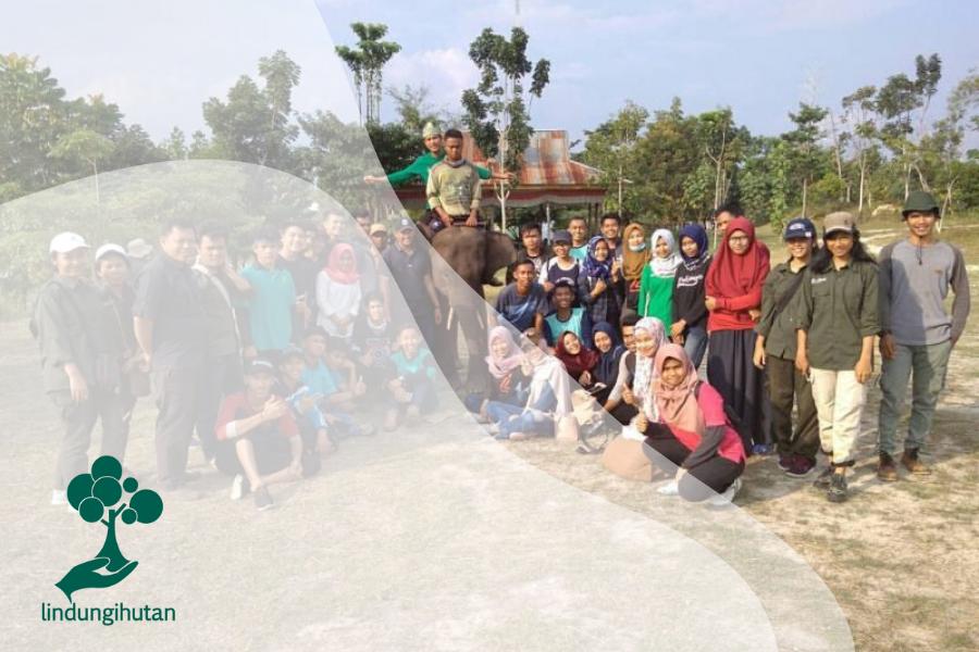 Relawan Lindungi Hutan Riau, Siap Menghijaukan Indonesia!