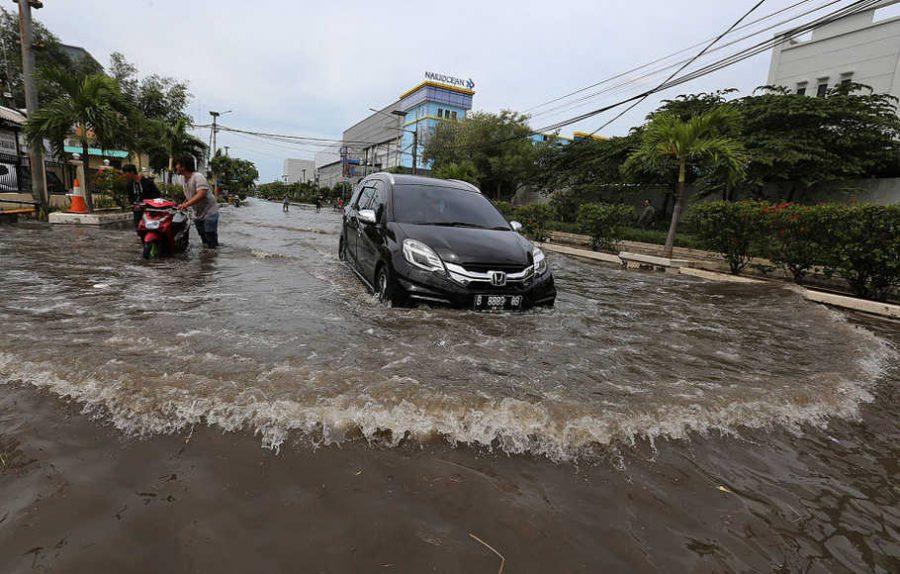 Penyebab Terjadi Banjir Rob