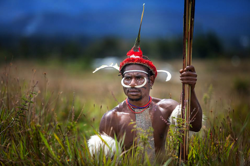 Penari Festival Baliem