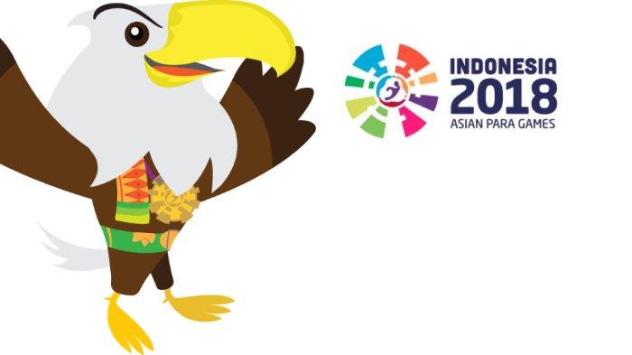 Elang Bondol sebagai Maskot Asian Para Games 2018