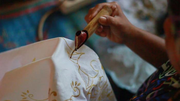 Batik yang Terbuat dari Mangrove
