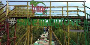 Mempawah Mangrove Park, Karya Nyata Ubah Abrasi Jadi Wisata