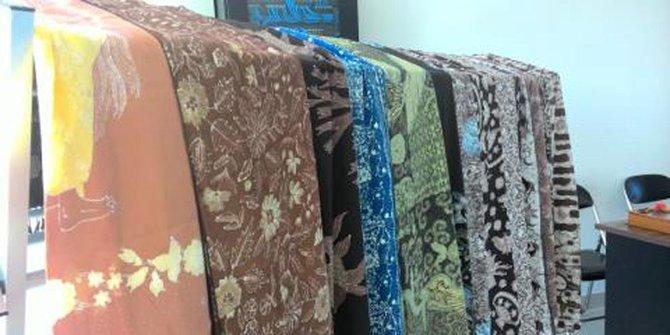Hasil Batik dari Mangrove