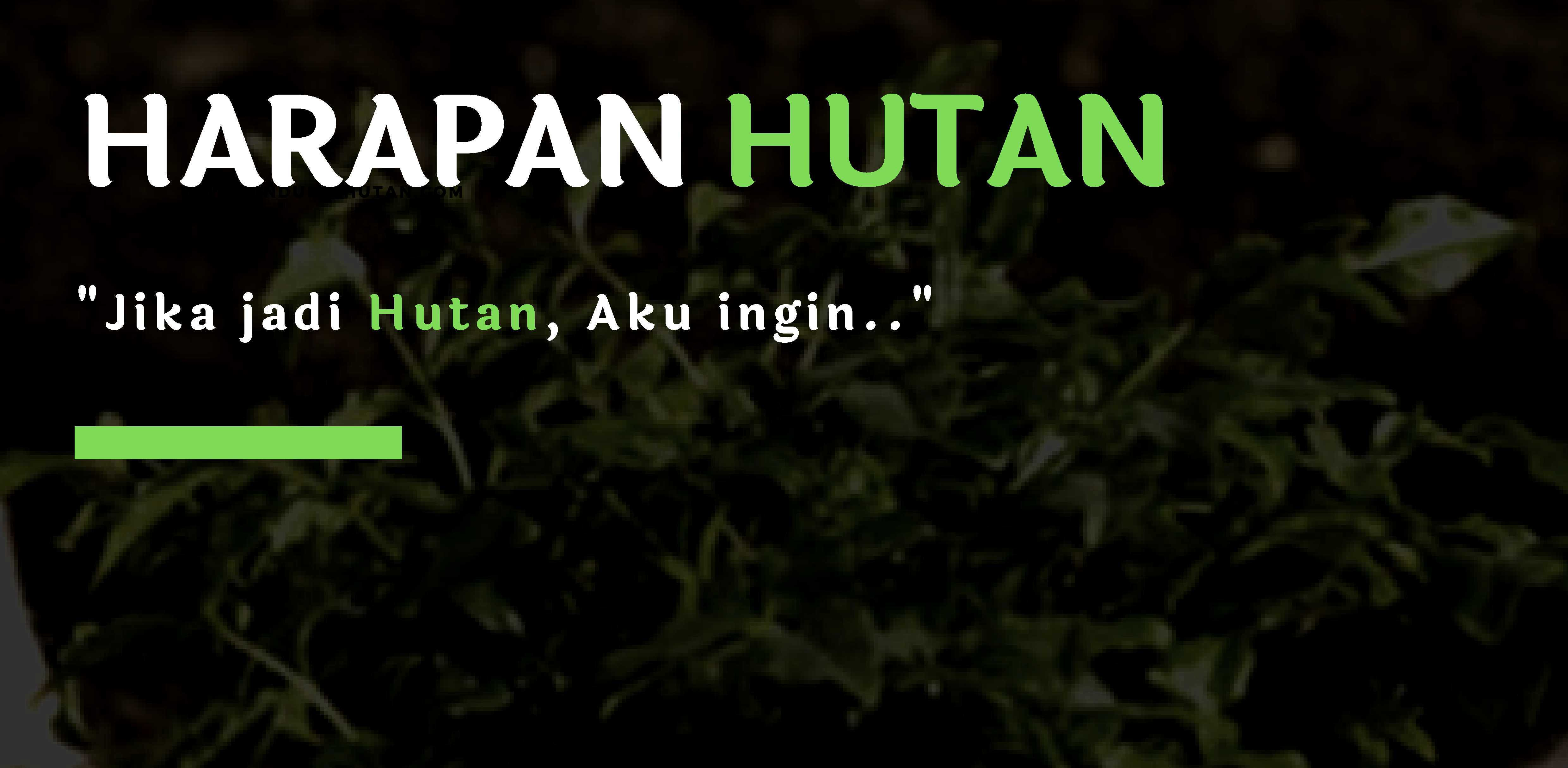 Press Release Harapan Hutan: LindungiHutanxDLHK Jateng dan Djarum Bakti Lingkungan