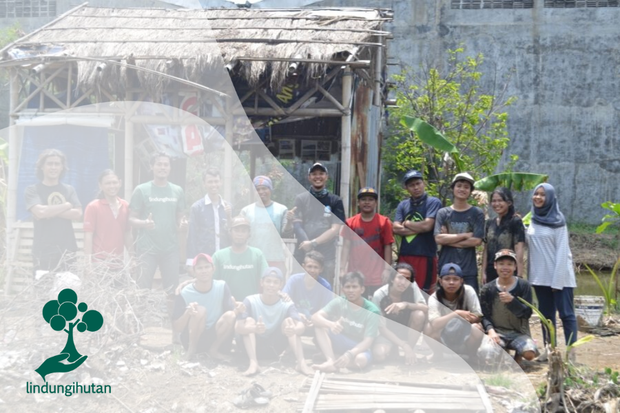 Semangat TRIPARI dan Relawan LindungiHutan di Trimulyo