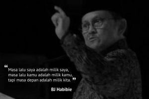 BJ Habibie Wafat dan 1998 Pohon untuk Mengenang Beliau