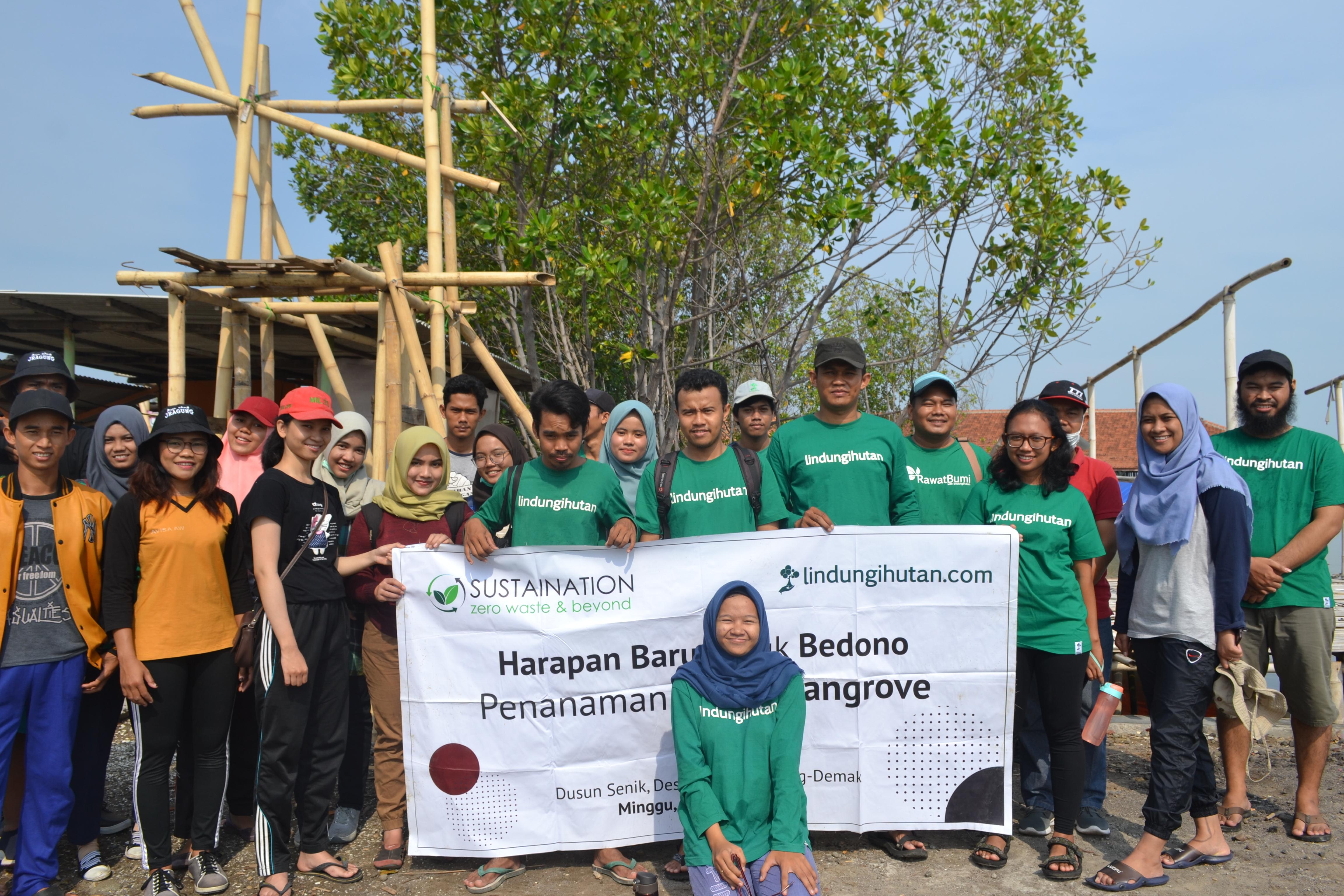 "Sustaination mendukung campaign ""Harapan Baru untuk Bedono"""