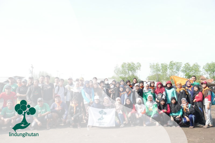 Bersedekah 3.000 Pohon di Bedono, Demak