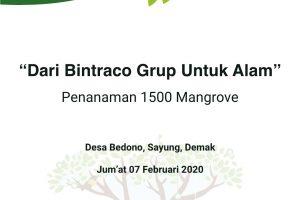 [Pre-Event Press Release] Dari Bintraco Dharma untuk Alam