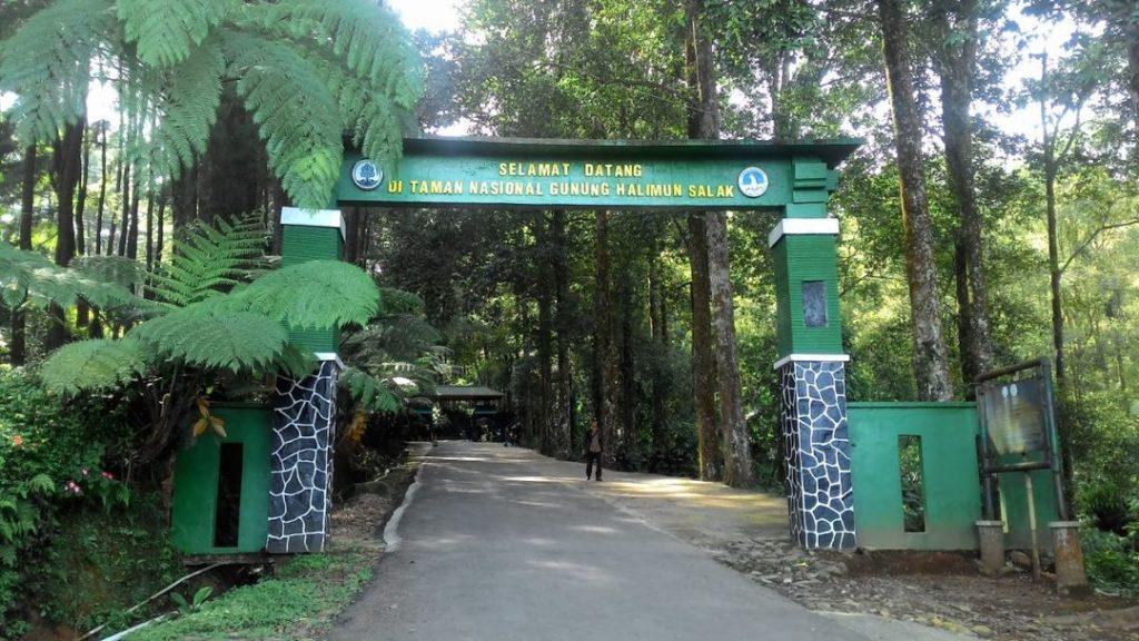 Pintu Masuk Taman Nasional Halimun-Salak