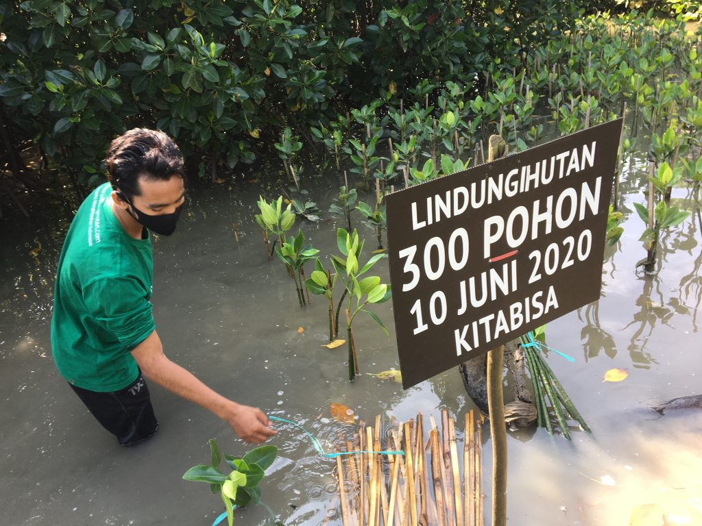 Kampanye Alam BisaJagaLingkungan bersama Kitabisa