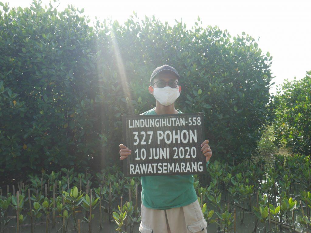 Kampanye Alam RawatSemarang bersama LindungiHutan