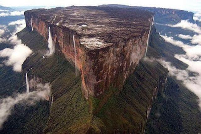 Taman wisata-TN Gunung Meja Hutan Papua