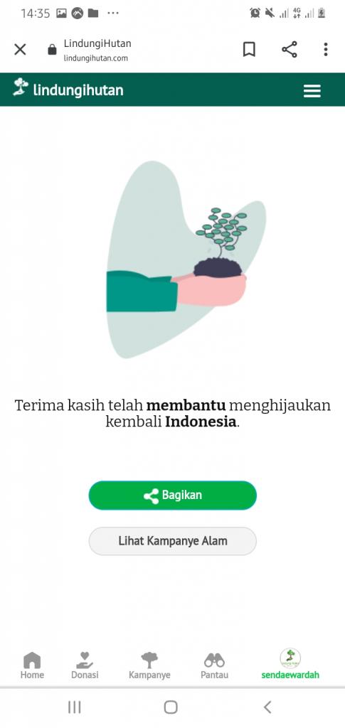 Akhir Regisrasi Kampanye Alam