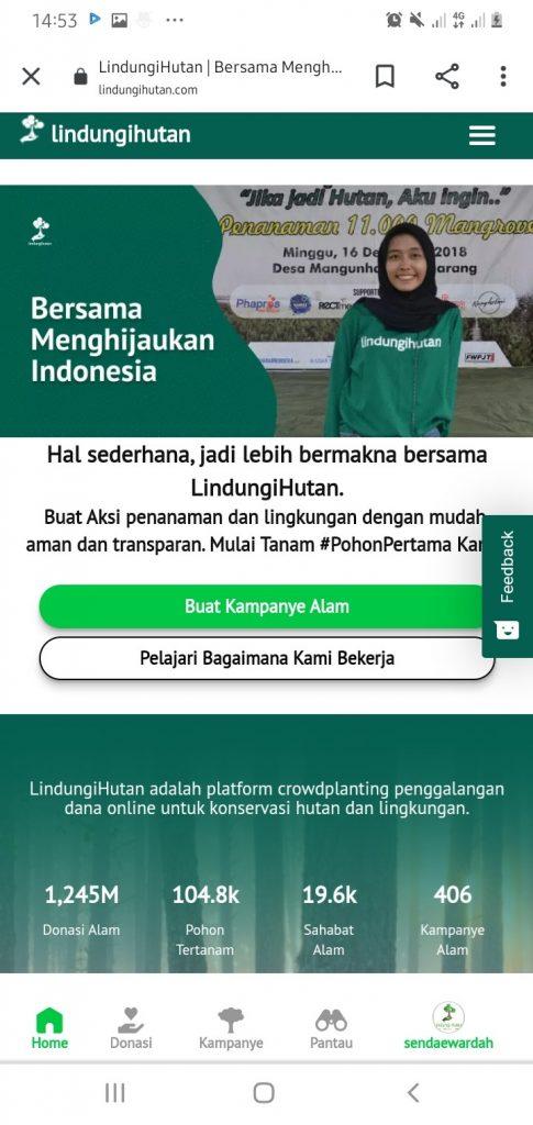 Home Website Kampanye Alam