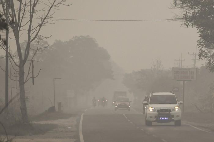 Gambar 5_Polusi Udara di Palangkaraya Akibat Kebakaran Hutan