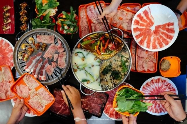 Makanan yang dikonsumsi sehari-hari ternyata berkontribusi menyumbang gas metana Dokumentasi duniakulinerbandung.com