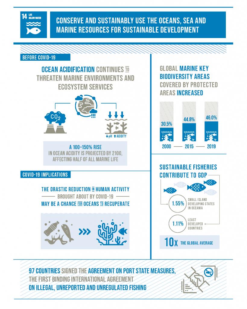 Gambar 3. SDGs tujuan 14. Sumber: https://sdgs.un.org/goals/goal14
