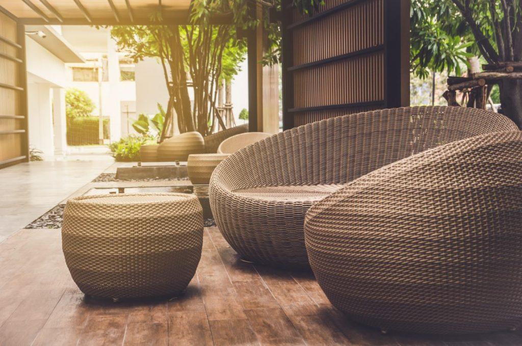 Gambar 3. Furniture dari Bahan Rotan. Sumber: bramblefurniture.com