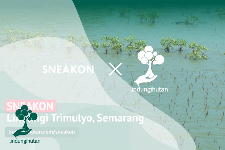 SNEAKON Lindungi Trimulyo dengan Penanaman Mangrove