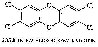 Gambar 1. Senyawa Dioksin. Sumber: sainskimia.com