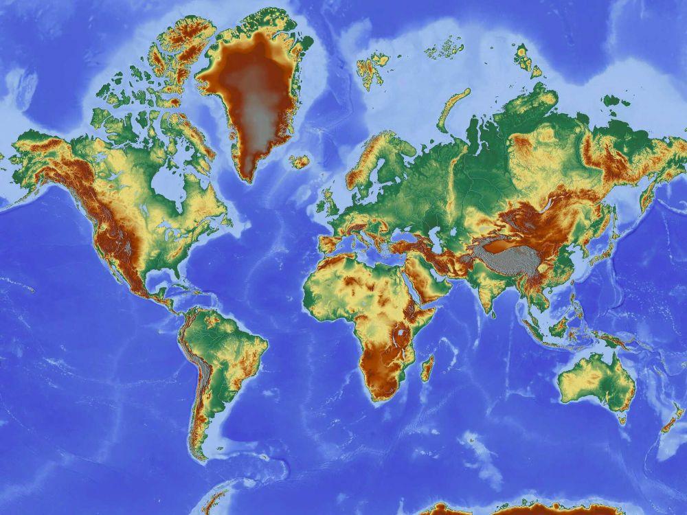 Peta Dunia © pixabay