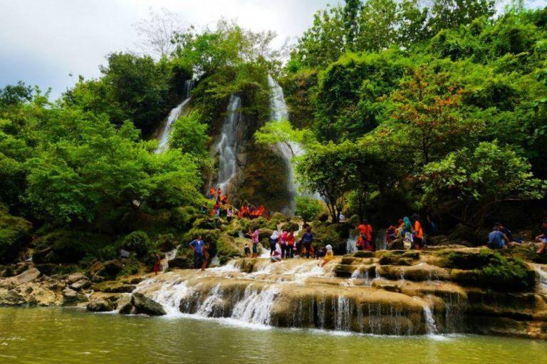 Gambar 2. Ekowisata di Air Terjun Sri Gethuk