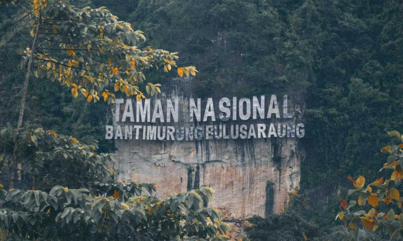 Gambar 1. Taman Nasional Bantimurung Bulusaraung