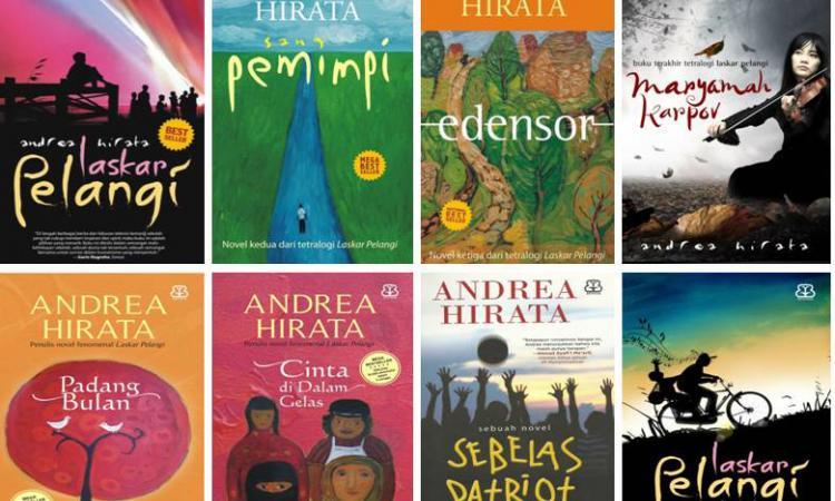 Ⓒ redaksiindonesia.com Novel Andrea hirata
