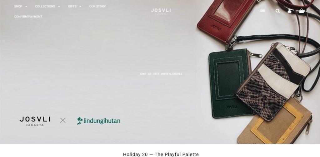 Laman website Josvli
