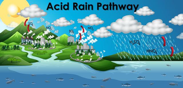 Gambar 2. Proses Hujan Asam