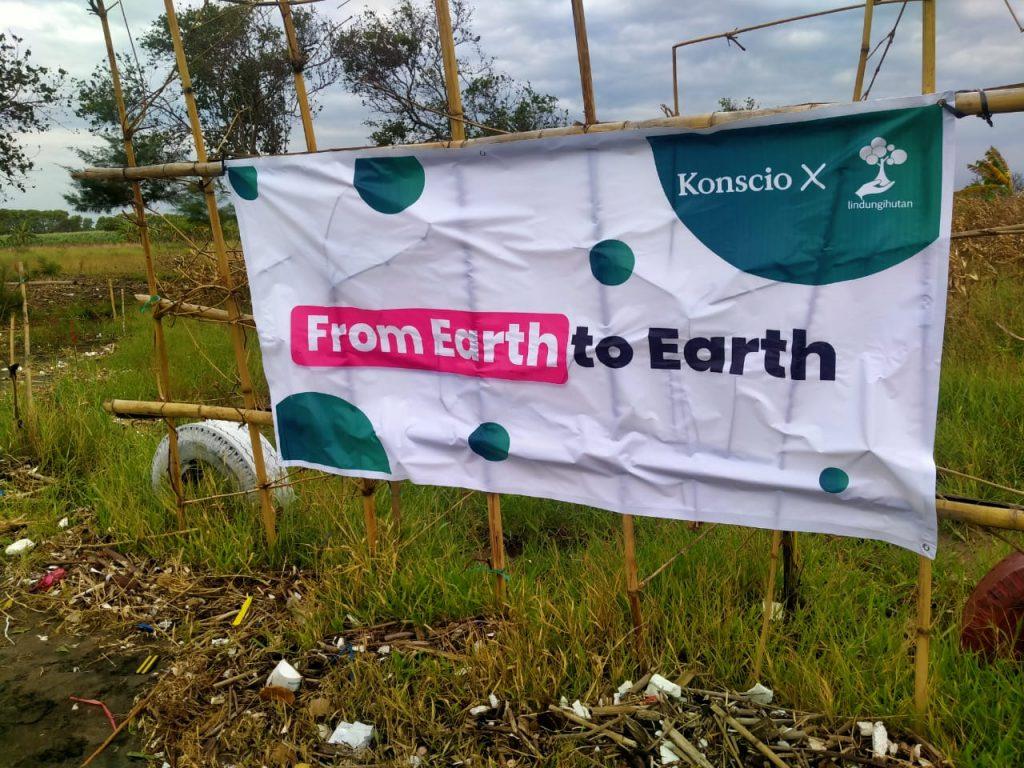 Realisasi Kampanye Earth to Earth © Dokumentasi Tim LindungiHutan
