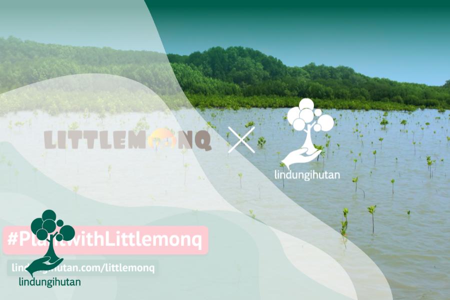 Langkah Kecil untuk Bumi Melalui #PlantwithLittlemonq