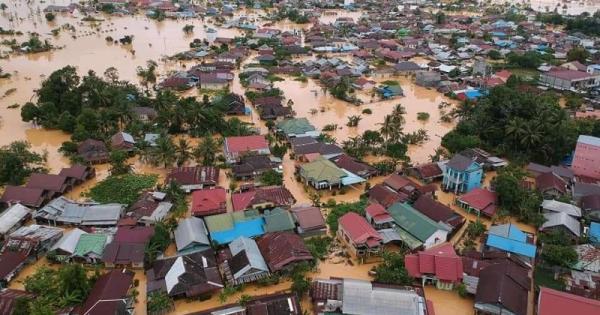 Banjir di Kalimantan Selatan © Dinas Sosial PPKB PPPA HST