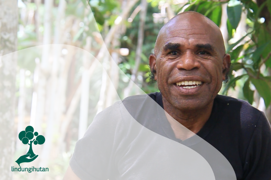 Mengenal Alex Waisimon, Pahlawan yang Mengabdi untuk Hutan Papua