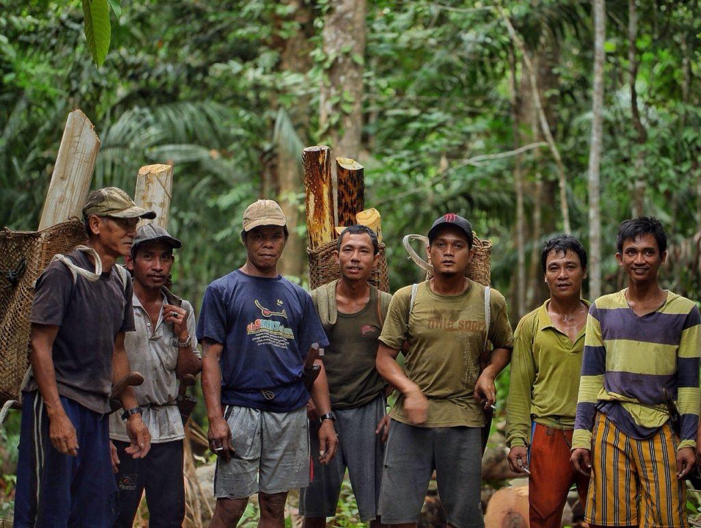 masyarakat adat dalam pelestarian hutan