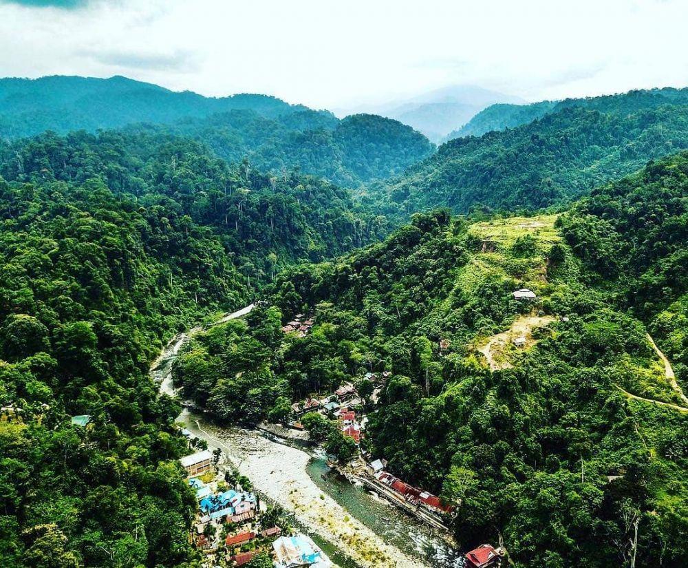 Gambar 1. Bukit Lawang