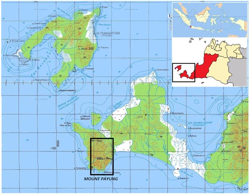 Gambar 5 Lokasi Gunung Payung