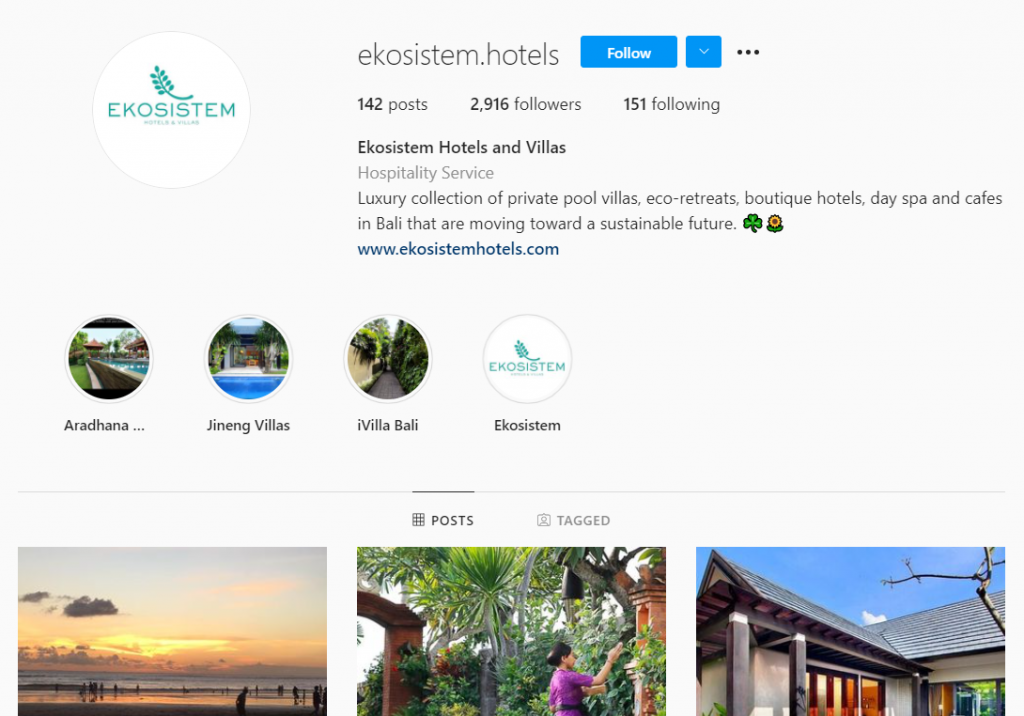 ekosistem hotel and villas