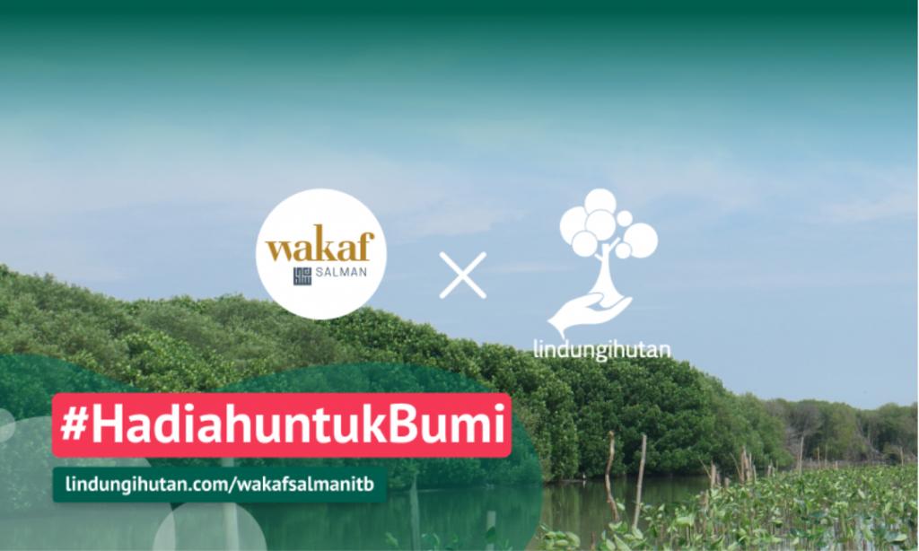 Gambar 3 Kampanye Alam #HadiahuntukBumi © LindungiHutan