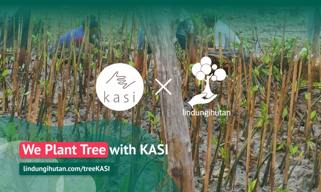Gambar 3 Kampanye Alam We Plant Tree with KASI © LindungiHutan