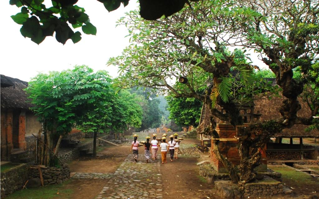 Gambar 1. kearifan lokal Desa Tenganan