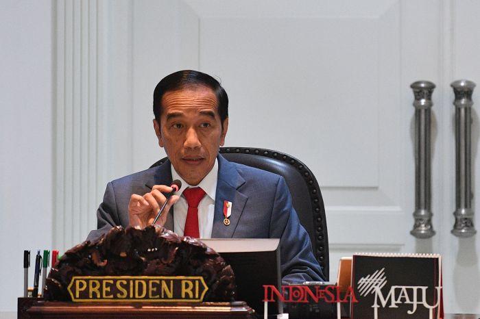 Gambar 1 (Presiden RI Joko Widodo Meminta Berbagai Regulasi yang Mampu Mendukung Percepatan Penurunan Emisi Gas Rumah Kaca)