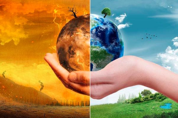 Gambar 1. Ilustrasi Perubahan Iklim