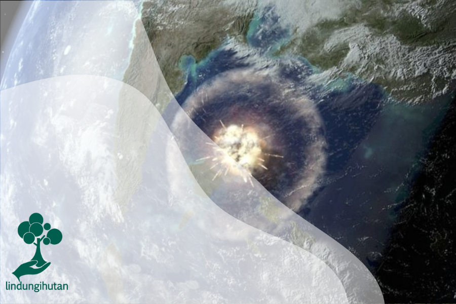 Asteroid Pembunuh Dinosaurus Ternyata Bantu Ciptakan Hutan Hujan