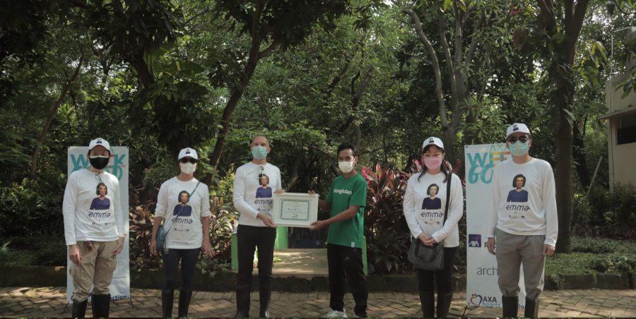 AXA Week for Good : Penanaman 500 Pohon Mangrove di Jakarta Utara